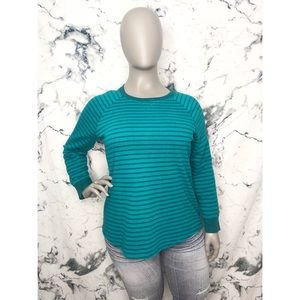 💙3/$25💙Hanes Striped Sweater Women Plus Size 2X